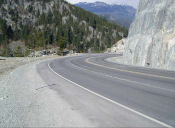 Photo courtesy of the Sea-to-Sky Highway Improvement Project